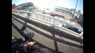 Boarding the Spirit of Tasmania at Port Melbourne