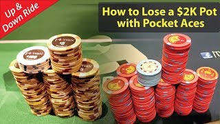 Poker Vlog 14: How to Lose a $2K Pot with Pocket Aces