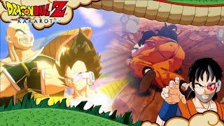 LLEGA VEGETA Y NAPPA ¡¡CUIDADO YAMCHA!! - #3 - Dragon Ball Z Kakaroto (PC) | En español - ZetaSSJ