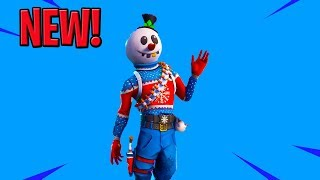 Fortnite NEW SNOWMAN SKIN - SLUSHY SOLDIER - France Magasin d'objets quotidiens en direct (fr) Fortnite Bataille Royale