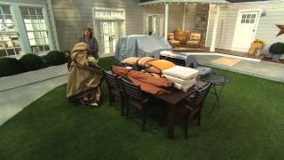 Seasons Sentry Deluxe Patio Cover by ATLeisure with Sharon Faetsch