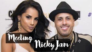 Baixar Meeting Nicky Jam | Madison Square Garden Concert | Nathalie Munoz