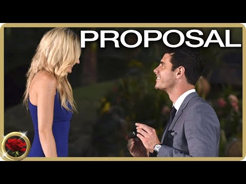 Ben Higgins Proposes To Lauren! | The Bachelor US
