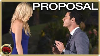 Ben Higgins Proposes To Lauren! | The Bachelor US