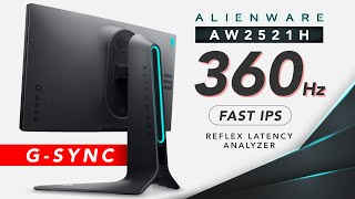A New 360Hz Challenger Approaches! - Alienware AW2521H 360Hz