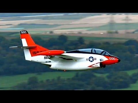 Giant RC Turbine Jet Northrop T-2 Buckeye...