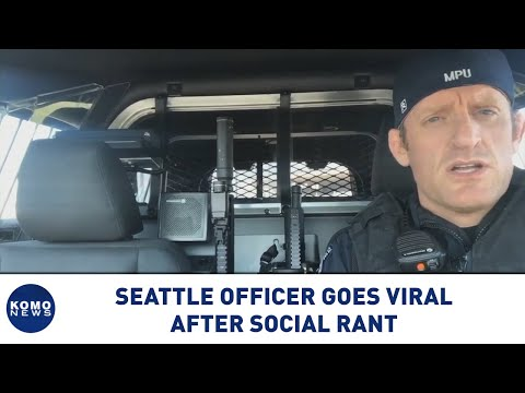 Port of Seattle officer goes viral after social rant