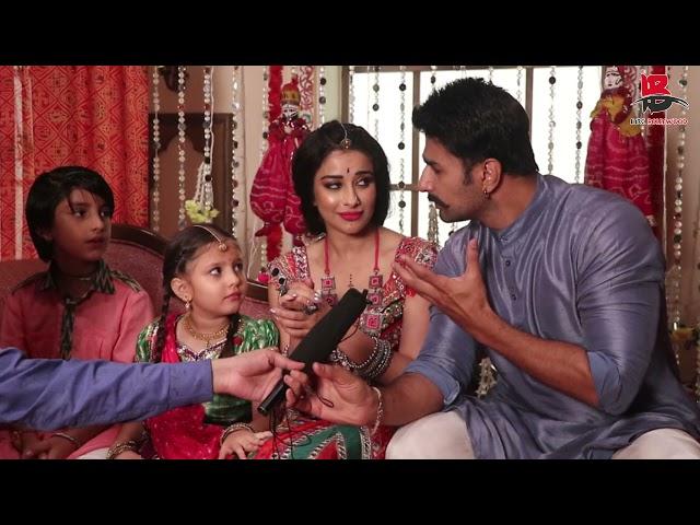 Nishant Malkani,Nyra Banerjee,Hardika Sharma & Azinkya Mishra interview on set of Rakshabandhan