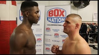 SMILIN' KILLER! - LERRONE RICHARDS v ATILLA TIBOR NAGY - OFFICIAL WEIGH-IN VIDEO (& HEAD TO HEAD)