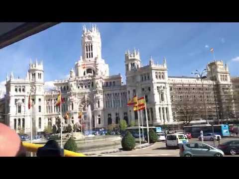 Madrid City Bus Tour full route part 7