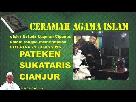 Ceramah Agama  Sunda Lucu Banget - Ustadz Luqman Pateken Cianjur