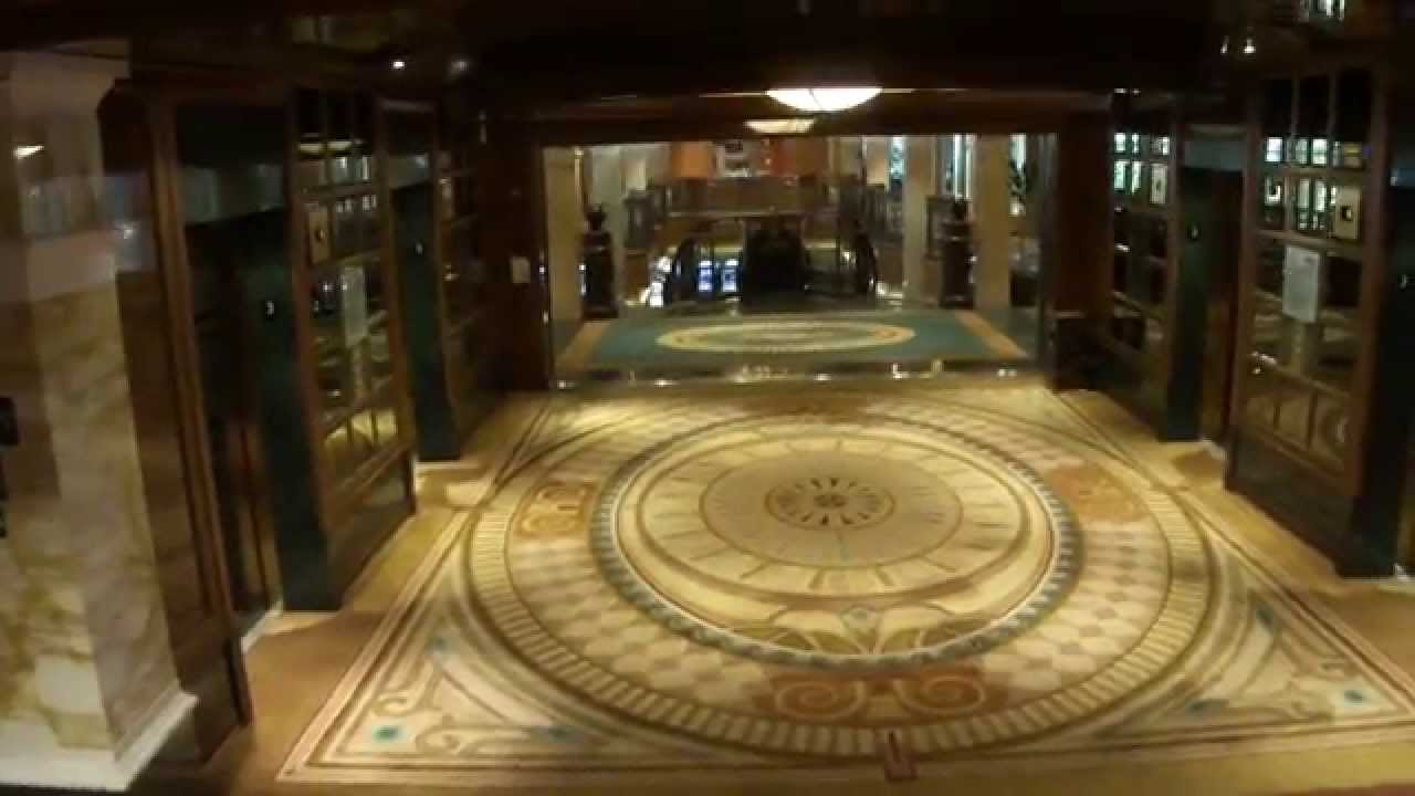 Cunard Queen Elizabeth Cruise Ship Quick Walkthrough Refit Youtube