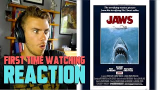 Jaws (1975) - MOVIE REACTION - FIRST TIME WATCHING