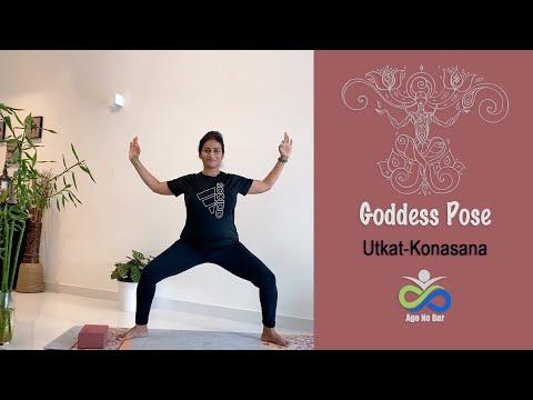 Goddess Pose variations | Utkatkonasana | Yoga Squat | Weight loss