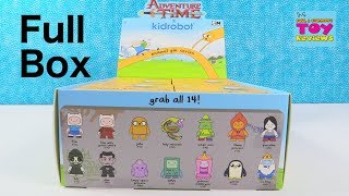 Adventure Time Kidrobot Enamel Pin Series Collector Review Unboxing | Pstoyreviews