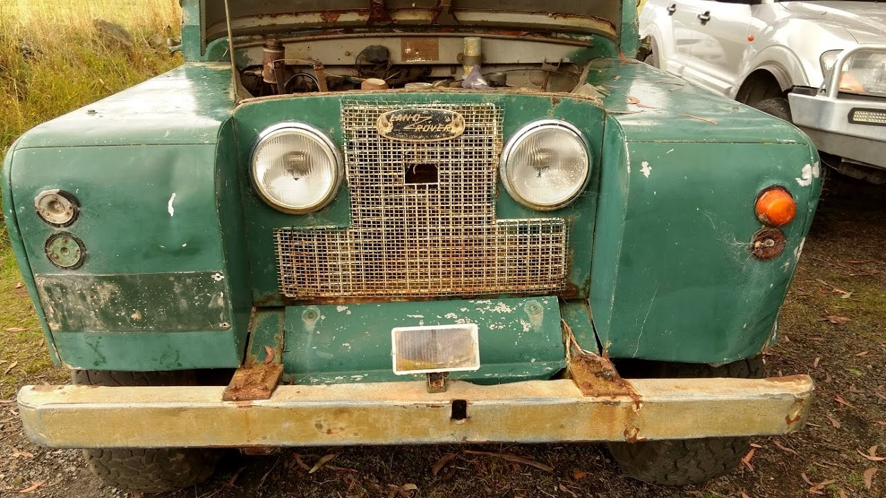 1967 Land Rover Series 2a 109 - Coming Home
