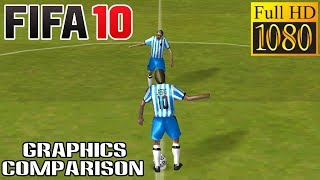 FIFA 10 DS 1080p Gameplay (with graphics comparison)