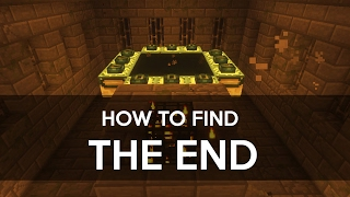 How to find THE END portal! - Minecraft PE (Pocket Edition)