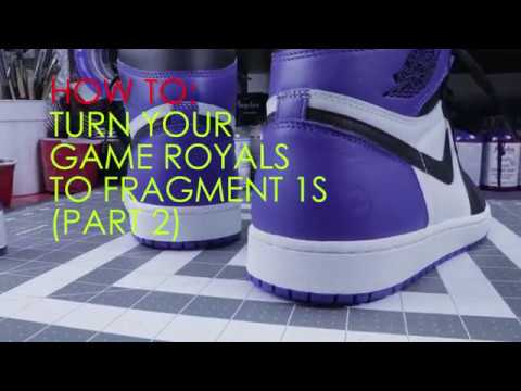 2412d39b9ee HOW TO: Flip Your Jordan 1 Game Royals to Fragments Tutorial PART 2. Feelgood  Threads
