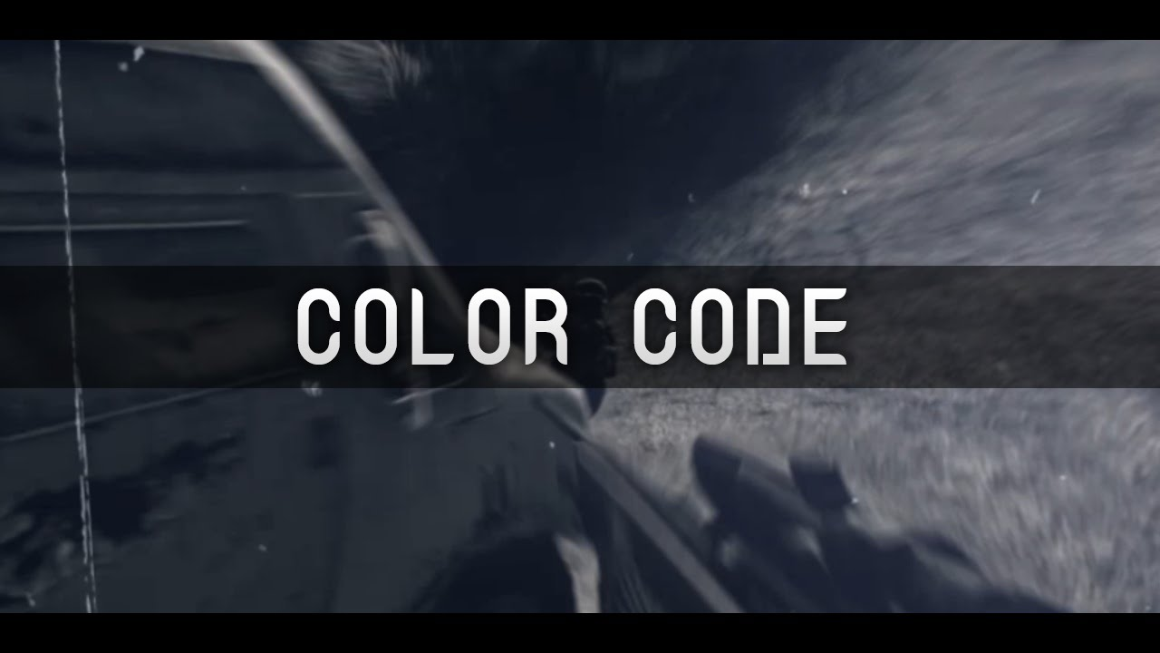 color code 167 youtube
