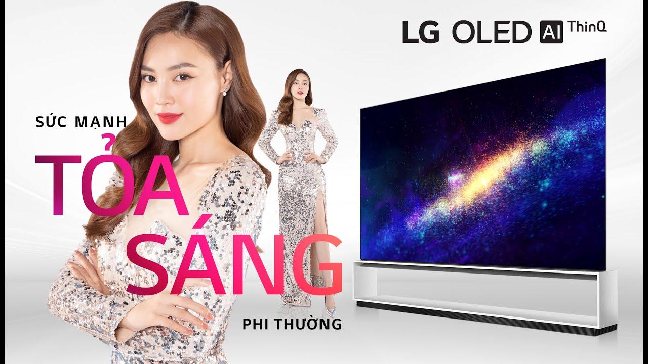 LG OLED TV 8K - SỨC MẠNH TOẢ SÁNG PHI THƯỜNG