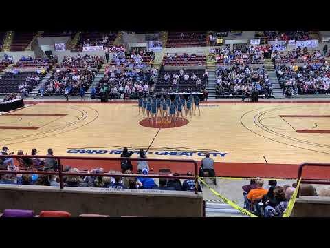 Oak Creek High School Dance Team 2019 State D1 Jazz - 4th Place