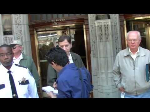 Protesters denounce Koch Brother potential purchase of Chicago Tribune