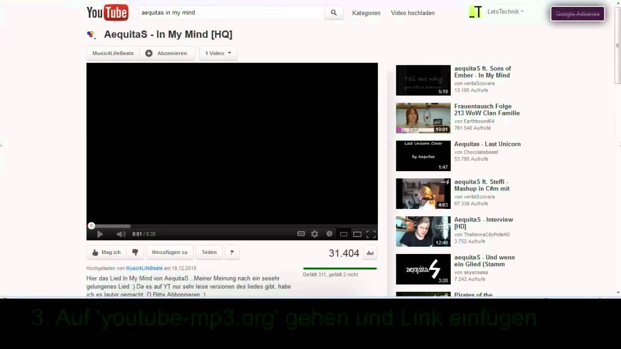 Youtube Musik gratis herunterladen (Legal) [HD] - YouTube