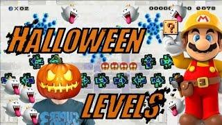 SPOOKY GLITCHES! | Halloween Levels [#3] - Super Mario Maker