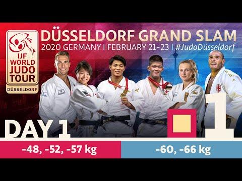 Düsseldorf Grand Slam 2020 - Day 1: Tatami 1