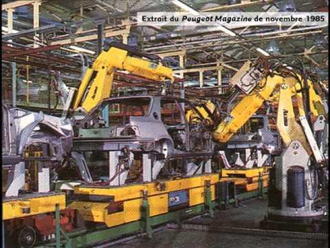 PEUGEOT 309 conception & production