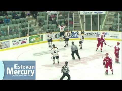 Estevan Bruins vs. Weyburn Red Wings - Game 4