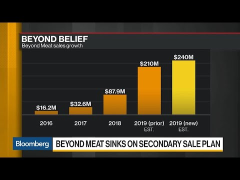 Beyond Meat Plunges On Plan For Secondary Offering