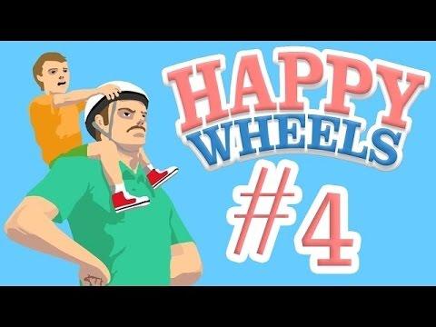 Фнаф 3 и 4.В happy wheels!!! пять ночей с ФРЕДДИ!