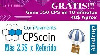 GRATIS¡¡ 40 DOLARES EN CPS coin - Quedan sólo 2 DÍAS