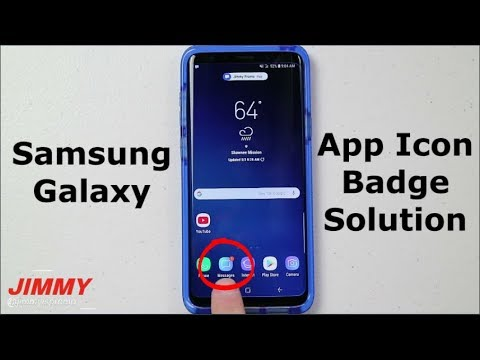Samsung Galaxy - App Icon Badge SOLUTION!! - YouTube