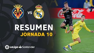 Resumen de Villarreal CF vs Real Madrid (1-1)