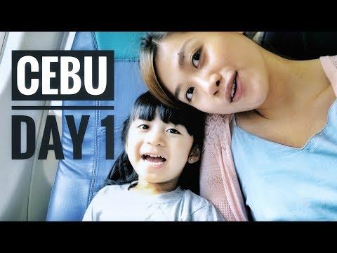 Travel Vlog #4 ✈️ Cebu - Day 1 (Lantaw Cordova + 10,000 Roses)   sazzon ♡