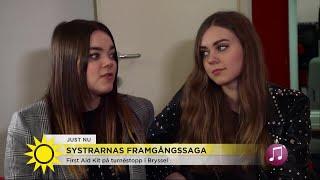 """First Aid Kit minns den jobbiga tiden: """"Då brast det på scenen"""" - Nyhetsmorgon (TV4)"""