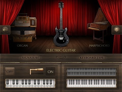 Real Piano, Demo for iPad, This Has An Amazing Guitar Sound and a free version
