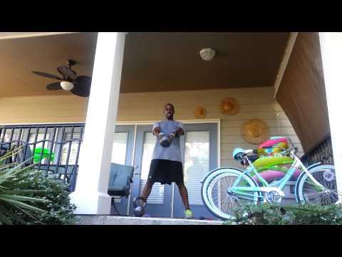 Armah Mitchem's 300 rep Kettlebell Swing Tabata