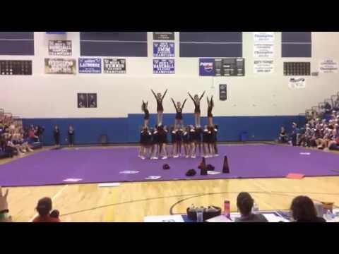 South Rowan High School Cheerleading PreState 2016