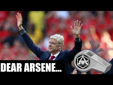 The letter I handed to Arsene Wenger
