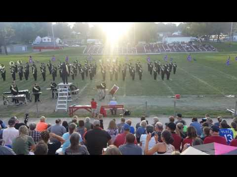 Excelsior Springs Tiger Pride Band 2016 Carrollton Missouri Band Days