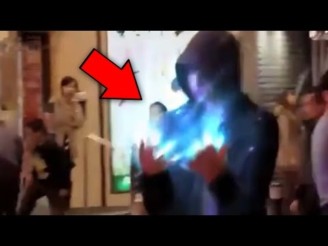 Top 5 People With Superpowers Caught On Tape