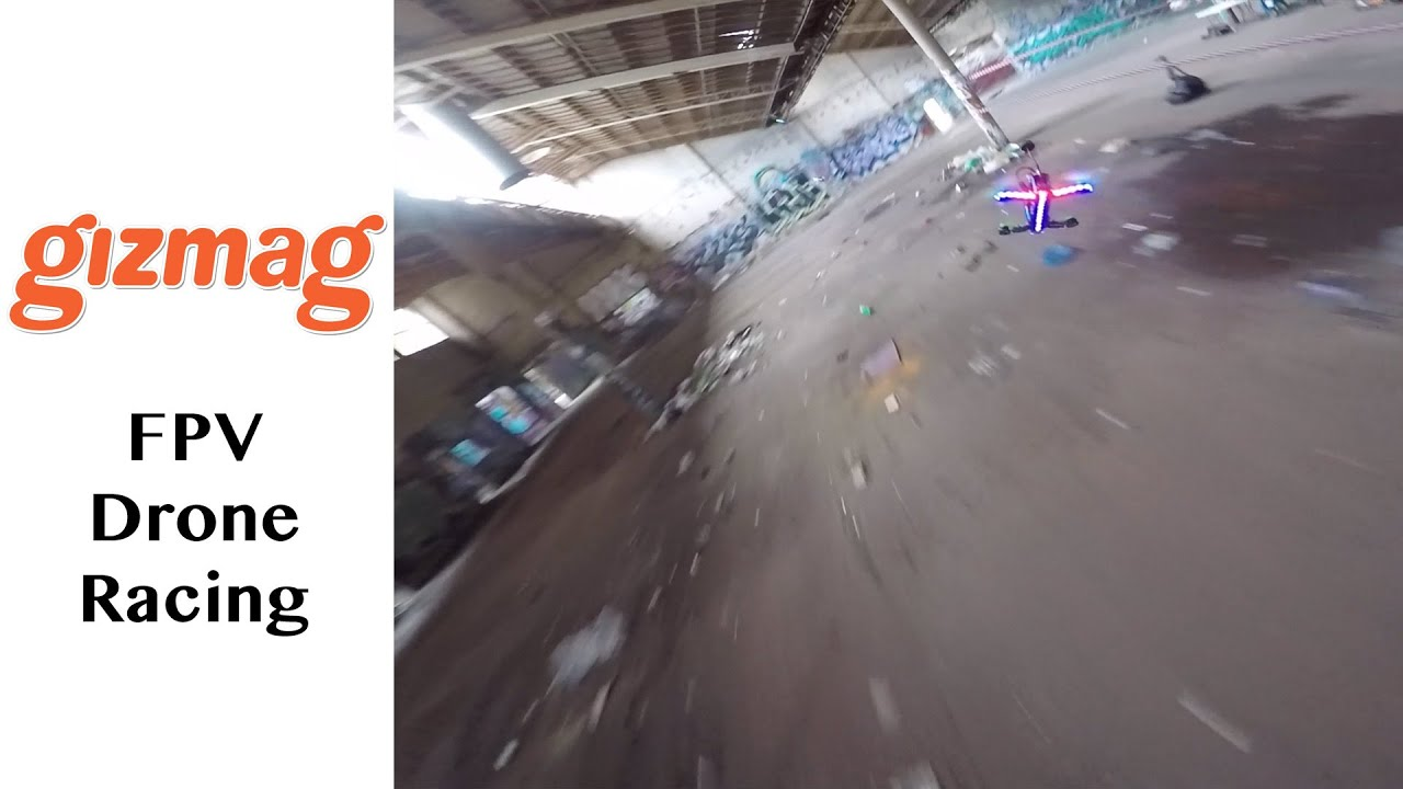 FPV Drone Racing: awesome underground footage - YouTube