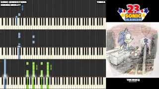 Sonic 23rd Anniversary | Sonic Generations - Ending Medley - Awesome for Piano
