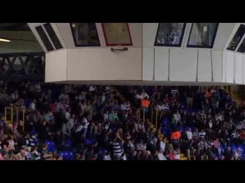 QPR fan with a Palestinian flag gets ejected at White Hart Lane v Spurs