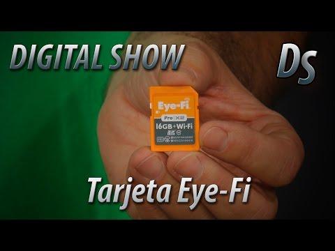 Como utilizar una tarjeta WiFi Eye-Fi en tu cámara de fotos o video