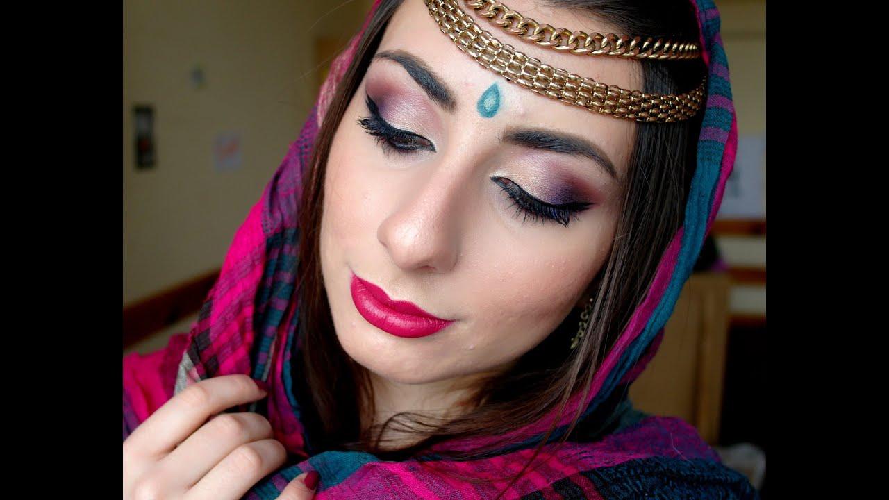 abbastanza Indian make up (Trucco Bollywood) - YouTube IG49
